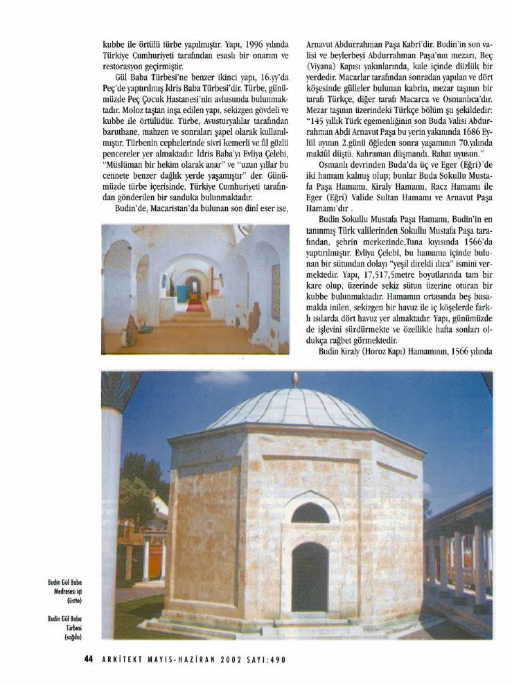 Macaristan da_Turk_Mimarisi_Arkitekt_May