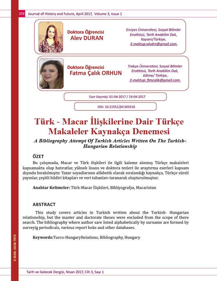 Turk -Macar_Iliskilerine_Dair_Turkce_Mak