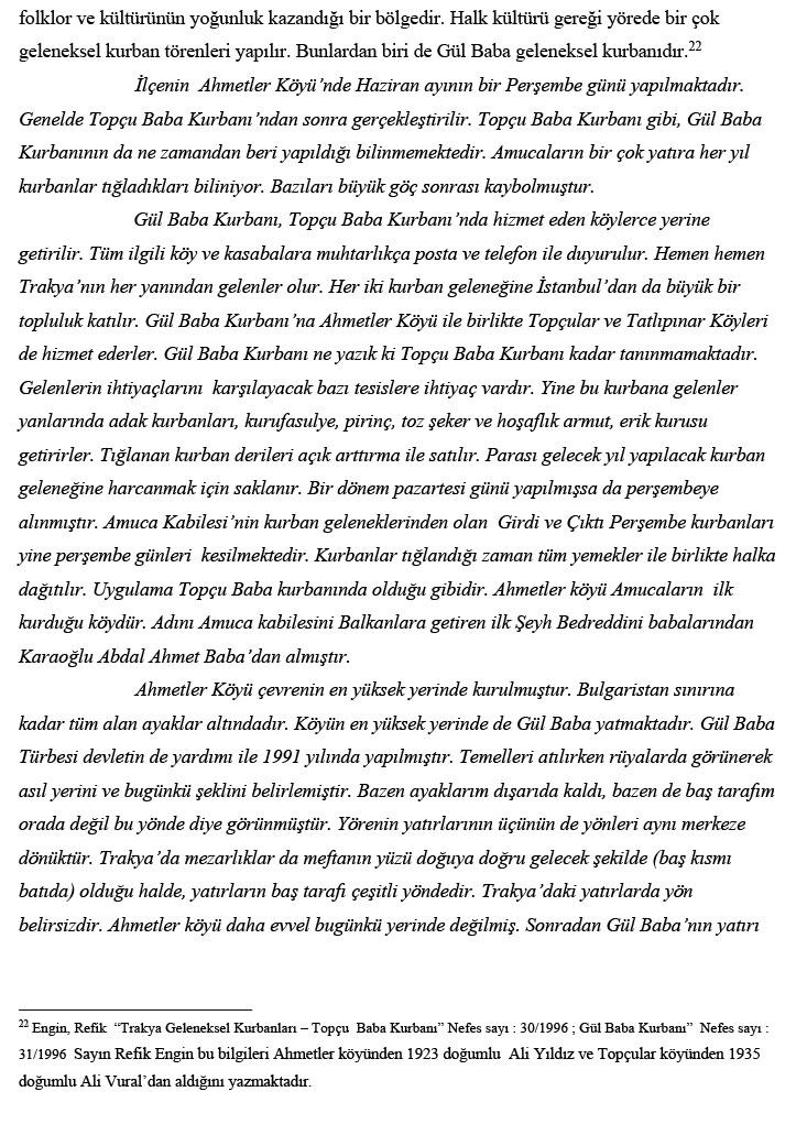 Anadolulu Gül Babalar